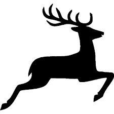 225x225 Stencil1 Deer Stencil Home Deer Stencil