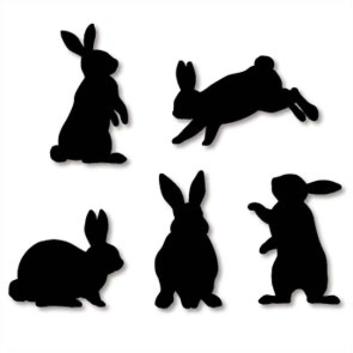 1232x1232 Wall Decorations Rabbit,home And Living,paper Craft,rabbit