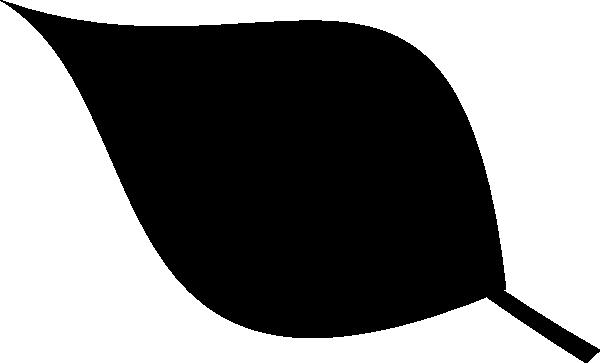 600x363 Leaf Silhouette Clip Art