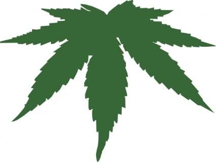 425x319 Cannabis Leaf Clip Art Vector, Free Vector Graphics
