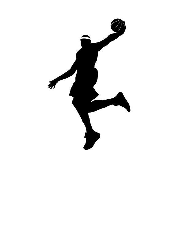 600x800 Lebron James Dunking Stickers By Sovart69 Redbubble
