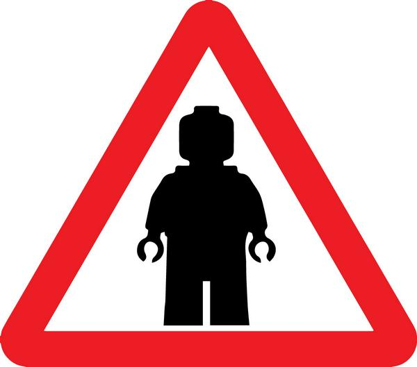 600x529 Tony Cocks On Twitter Warning Sign. Lego Minifig. Httpt.co