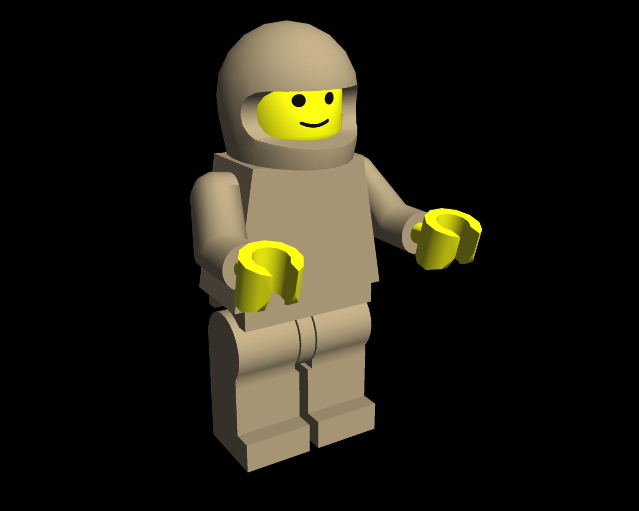 1280x1024 Lego Man Job