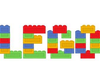 340x270 Lego Font Etsy