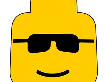 340x270 Lego Head Svg Etsy