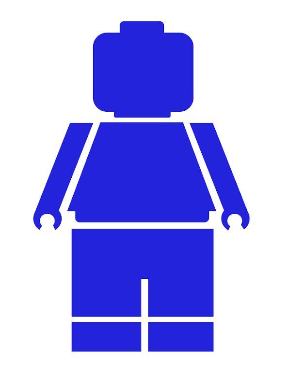 Lego Minifigure Silhouette