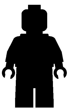 288x456 Minifig Silhouette