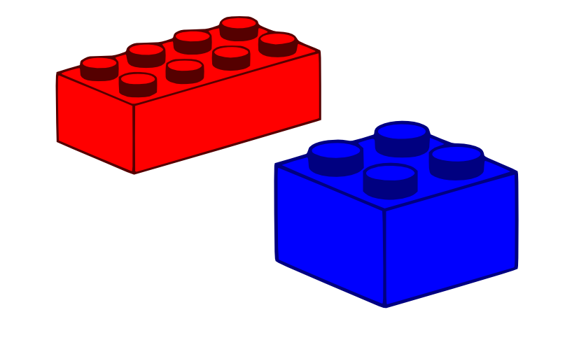 Lego Bricks Clipart