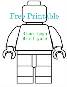 236x305 Lego Figure Coloring Free Make Your Own Color In Lego Mini
