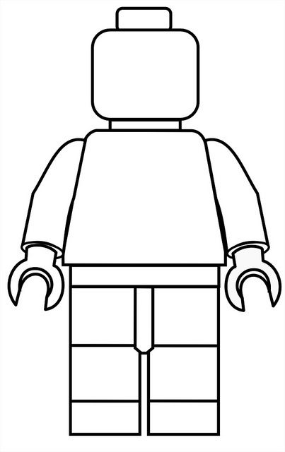 403x640 Create Your Own Lego Minifigures Printables For Boys Amp Girls