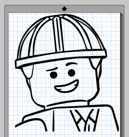 518x548 Emmet Lego Character Cameo Silhouette File