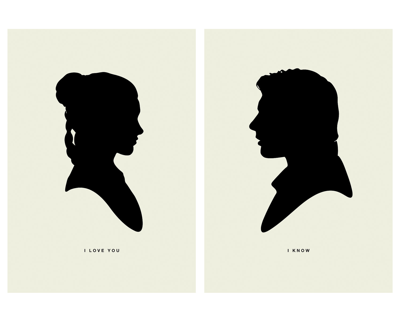 1500x1200 Han Amp Leia Silhouette I Love You Milners Blog