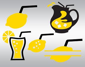 340x270 Lemon Svg Lemon Silhouette Lemon Clipart Fruit Svg