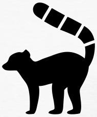 190x229 Lemur Silhouette By Azza1070 Spreadshirt
