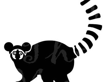 340x270 Lemur Svg Etsy