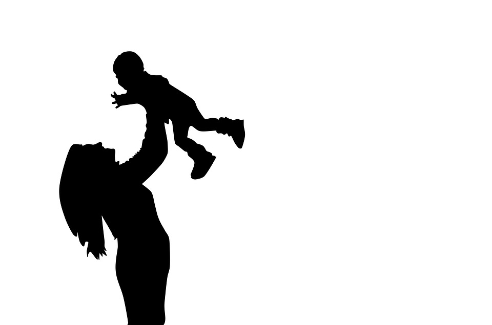 960x635 Free photo Motherly Love Mother And Son Silhouette