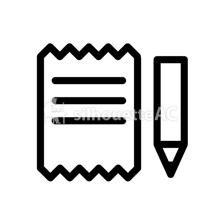 750x750 Free Silhouette Vector Letter, Pen, Writing