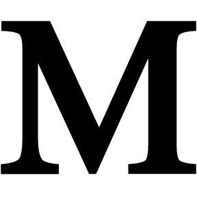 288x288 Letter M Small Letter M Sm Amazon.co.uk Kitchen Amp Home
