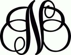236x184 Monogram Letter K Silhouette Design, Silhouettes And Monograms
