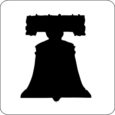 386x386 For The Fourth Liberty Bell