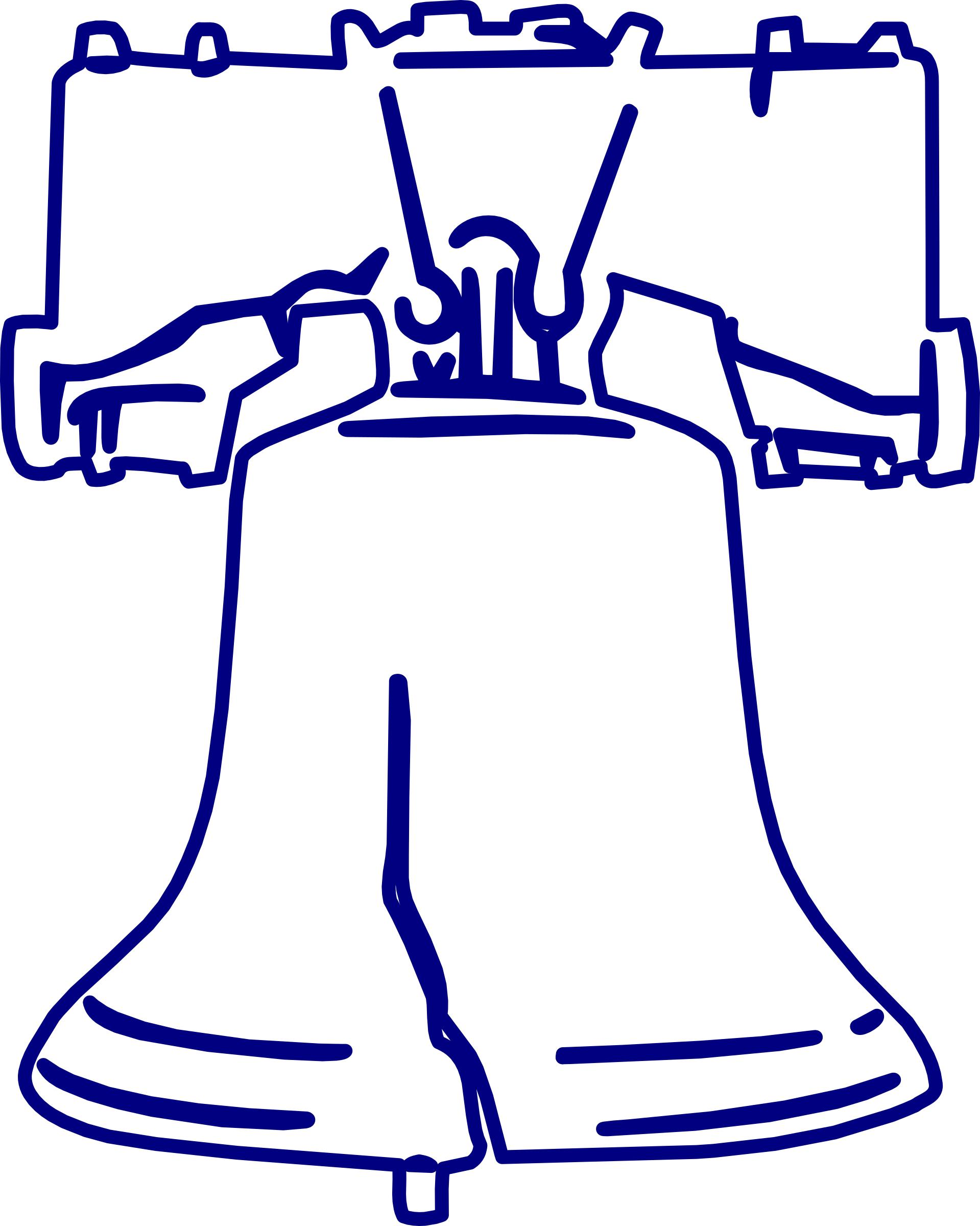liberty bell silhouette at getdrawings com free for personal use rh getdrawings com liberty bell clipart free