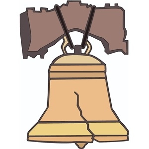 300x300 Liberty Bell Silhouette Keywords And Pictures