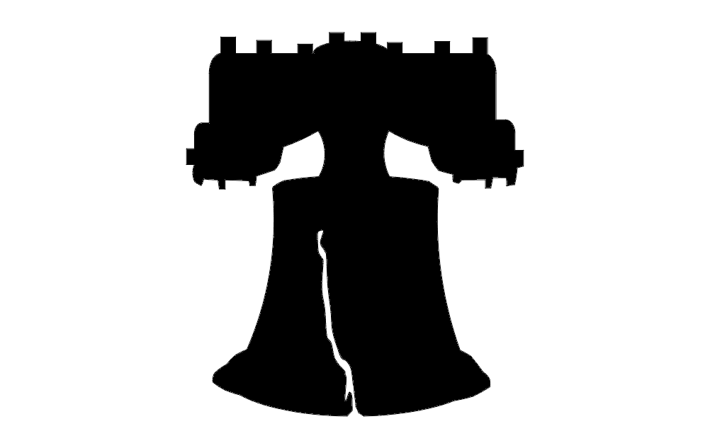 1002x633 Liberty Bell Dxf File Free Download