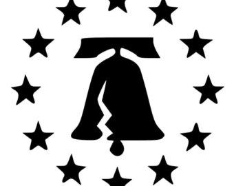 340x270 Liberty Bell Die Cut Etsy