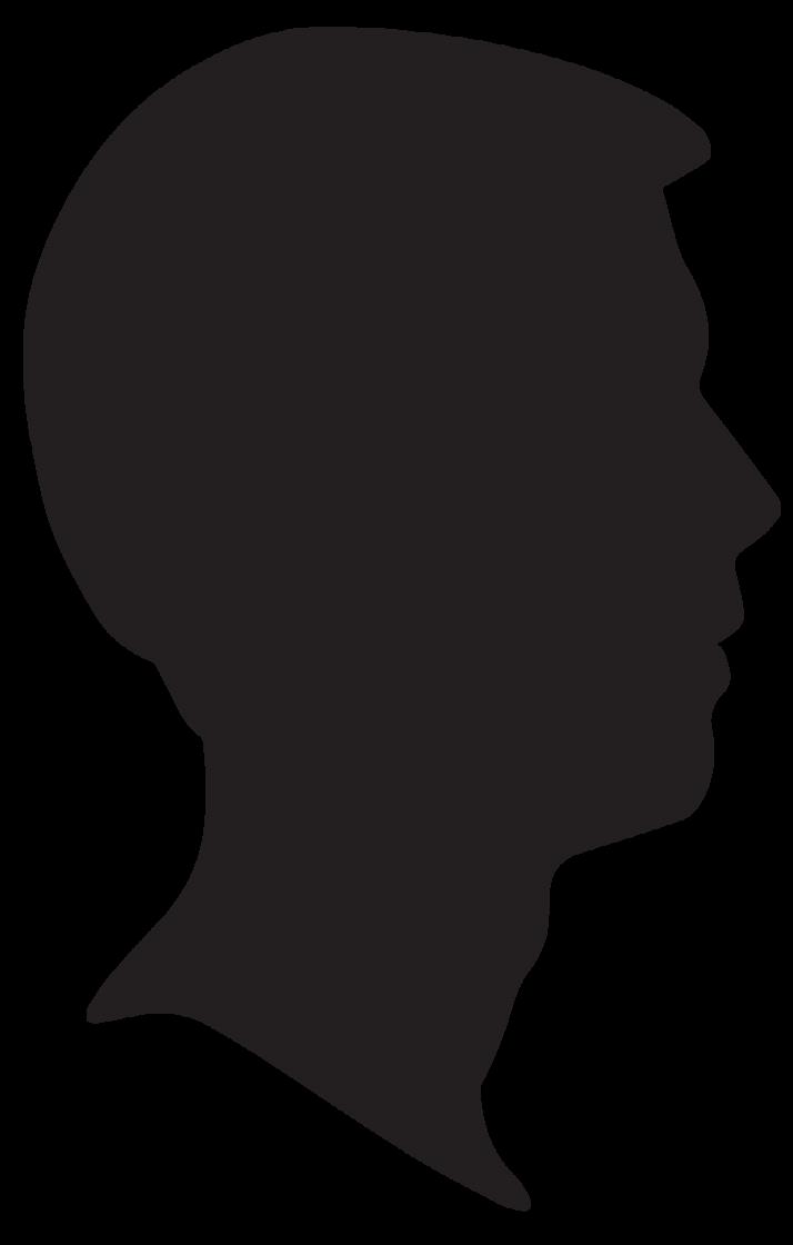 714x1120 Woman Head Silhouette Clipart