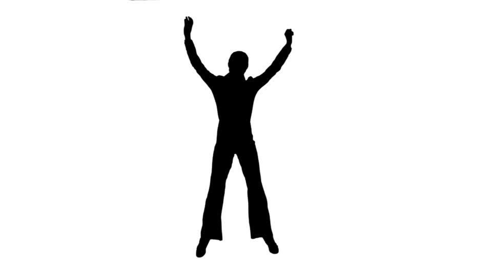 960x540 People Silhouette Lifting Hd Stock Video 697 605 169