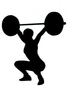 236x334 Image Result For Olympic Weightlifting Snatch Silhouette Gym