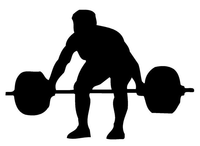 654x480 Lifting Silhouette Clipart