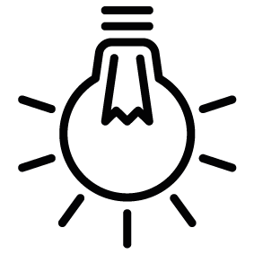 283x283 Light Bulb Silhouettes Silhouettes Of Light Bulb Free