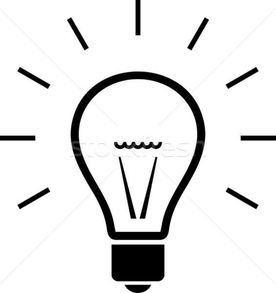 565x600 Light Bulb. Vector Illustration Vector Illustration Mr Vector