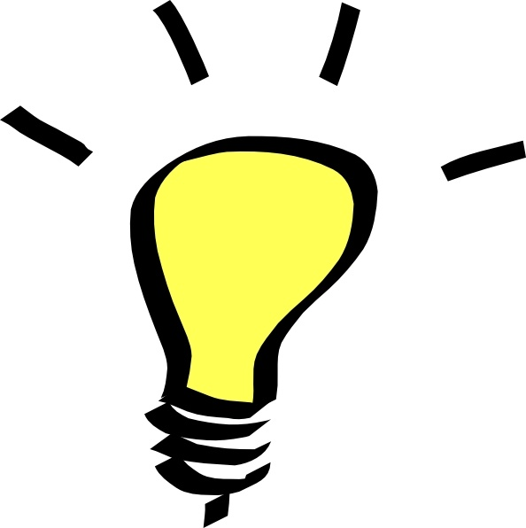 594x596 Light Bulb Clip Art Free Vector In Open Office Drawing Svg ( Svg