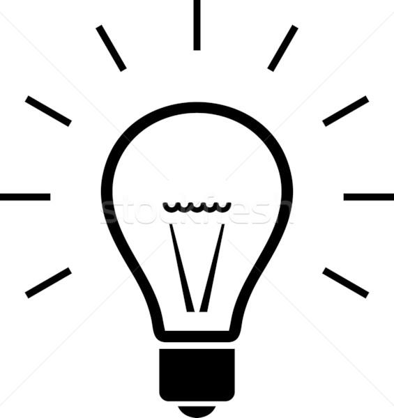 565x600 Light Bulb. Vector Illustration Vector Illustration Mr Vector