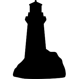 263x262 Lighthouse Silhouette Free Svg Scan And Cut
