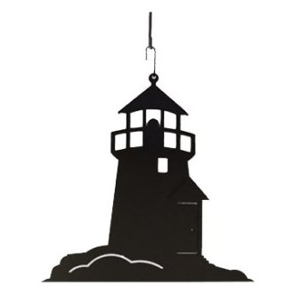 330x330 Lighthouse Silhouette Hanging