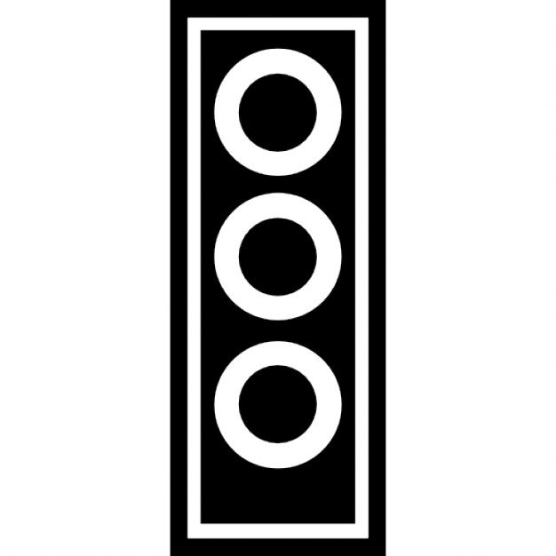 626x626 Traffic Light Silhouette Variant Icons Free Download