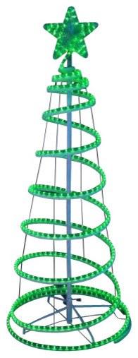 Spiral christmas tree lighted image home garden and tree rtecx spiral christmas tree lighted image home garden and rtecx spiral rope light aloadofball Images