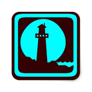 307x307 Lighthouse Silhouette Gifts On Zazzle