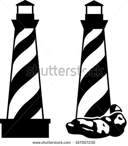 414x470 With Blinking Light Lighthouse Clipart, Explore Pictures