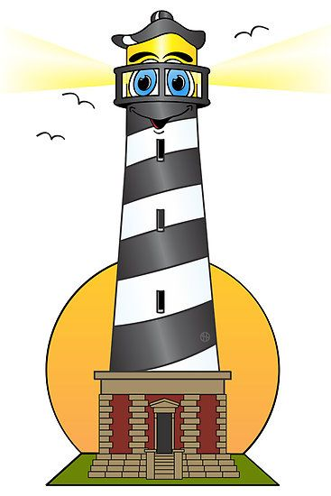 Lighthouse Silhouette Clip Art