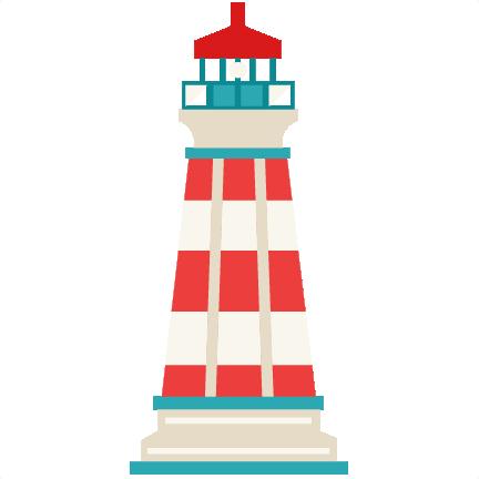 432x432 Lighthouse Svg Scrapbook Cut File Cute Clipart Files