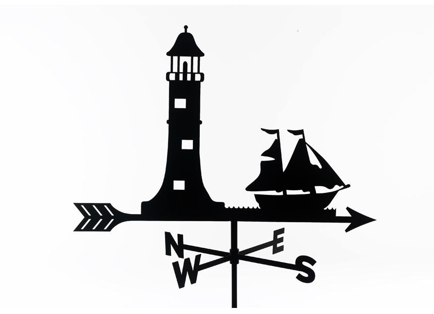 860x622 Lighthouse Silhouette Tattoo