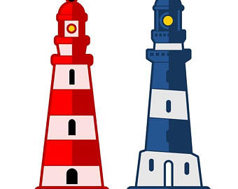 340x270 Lighthouse Png Etsy
