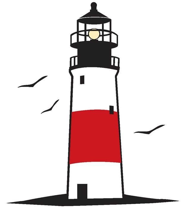 619x700 Opulent Ideas Lighthouse Clipart
