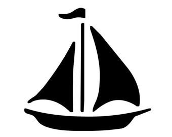 340x270 Sail Boat Clipart Clip Art Digital Scrapbooking Commercial Use