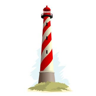 324x324 New Lighthouse Images Clip Art