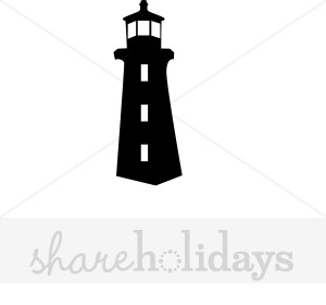 300x280 Clipart Lighthouse Silhouette Vector Fonts